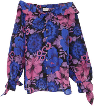 Alice McCall Love Me Love Me Not Off Shoulder Blouse