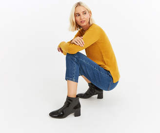 Oasis PATENT ANKLE BOOTS