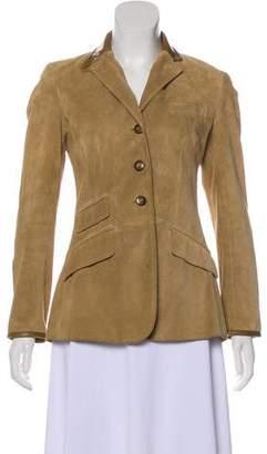 Ralph Lauren Tailored Suede Jacket