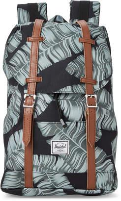 Herschel Black Palm Retreat Mid Laptop Backpack