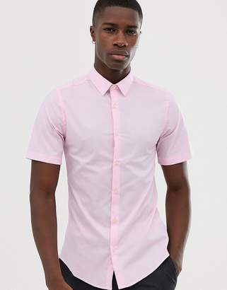 French Connection Plain Poplin Slim Fit Shirt