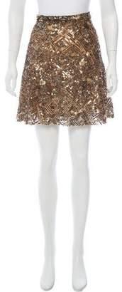 Ralph Lauren Sequined Mini Skirt w/ Tags