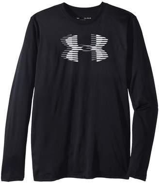 Under Armour Kids Tech Big Logo Long Sleeve Boy's Long Sleeve Pullover