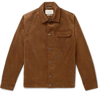 Oliver Spencer Waltham Cotton-Corduroy Blouson Jacket