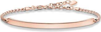 Thomas Sabo Love Bridge 18ct rose gold-plated bracelet