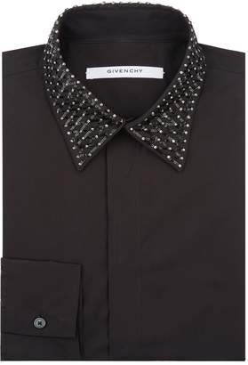 Givenchy Sequin Collar Shirt