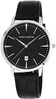 Vince Camuto (ヴィンス カムート) - [ヴィンス・カムート]VINCE CAMUTO 腕時計 クォーツ VC/1073BKSV メンズ 【正規輸入品】