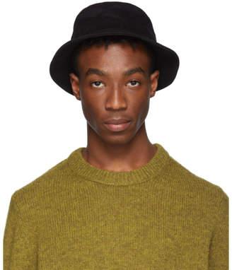 Acne Studios Black Twill Buk A Bucket Hat