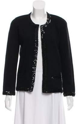 Chanel Embellished Cashmere Cardigan
