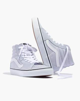 Madewell Vans Sk8-Hi High-Top Sneakers in Canvas and Suede