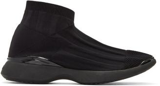Acne Studios Black Tristan Low Sneakers $490 thestylecure.com