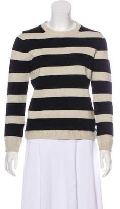 The Kooples Rib Knit Crew Neck Sweater