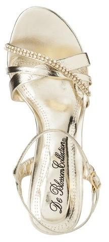 Women's De Blossom Kiley Criss Cross Strappy Sandal