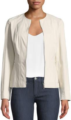 Lafayette 148 New York Courtney Fundamental Bi-Stretch Jacket