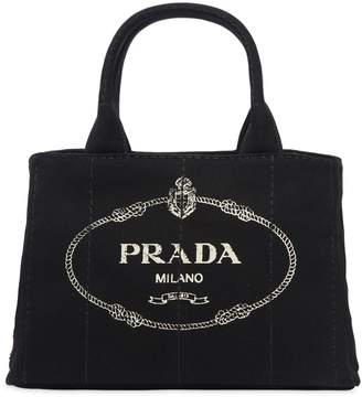 Prada Small Gardener's Cotton Canvas Bag