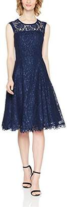 Womens Petite Lace & Satin Prom Party Dress Precis iDBwXnr