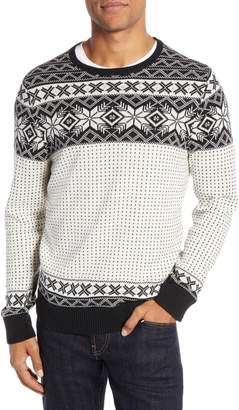 1901 Fair Isle Snowflake Sweater