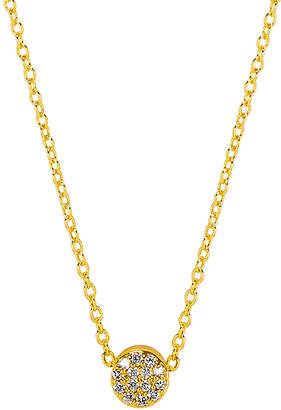 Gorjana Adjustable Pristine Shimmer Charm Necklace