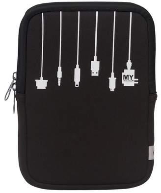 MYTAGALONGS Black Medium Tablet Sleeve