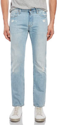 G Star Raw 3301 Deconstructed Slim Straight Jeans