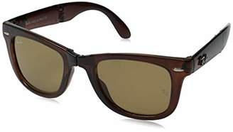 Ray-Ban Folding Wayfarer Polarized Sunglasses
