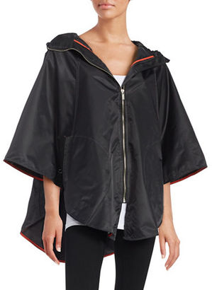 Totes Hooded Zip-Front Cape $65 thestylecure.com