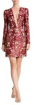 Dress the Population Sequined Sheath Dress