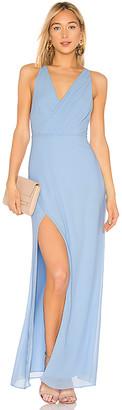 Majorelle Petunia Gown