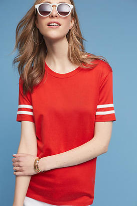 Levi's Varsity Striped Tee $34.50 thestylecure.com