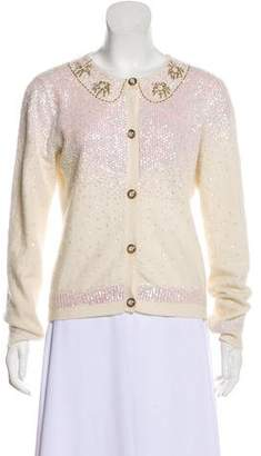 Dolce & Gabbana Sequinned Cardigan Top