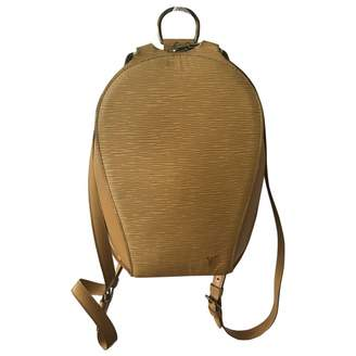 Louis Vuitton Ellipse Leather Backpack
