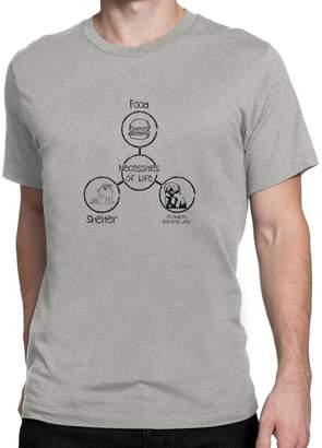 Golden Retriever Site Athletics Necessities of life T-Shirt