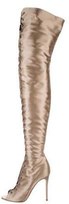 Gianvito Rossi Marie Over-The-Knee Boots Champagne Marie Over-The-Knee Boots