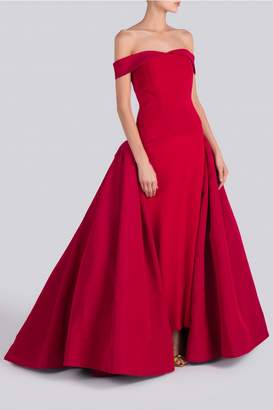 Christian Siriano Off Shoulder Princess Gown