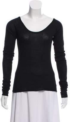 Fendi Long Sleeve Knit Sweater