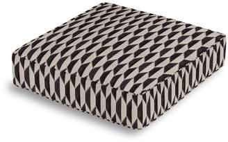 Loom Decor Box Floor Pillow Alessio Geo - Linen