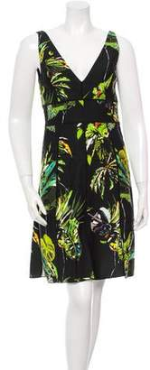 Proenza Schouler Printed Sleeveless Dress w/ Tags