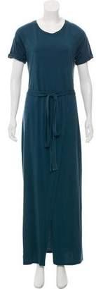 Elizabeth and James Short Sleeve Maxi Dress