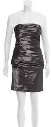 Ralph Lauren Ruched Strapless Dress