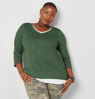 dca1321968 Avenue Green Plus Size Tops on Sale - ShopStyle