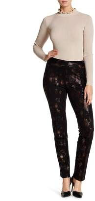 Insight Printed Scuba Straight Leg Ankle Pants