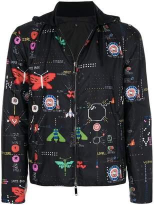 Valentino Game Over bomber jacket