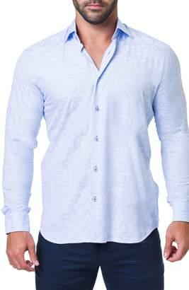 Maceoo Fibonacci Flow Trim Fit Sport Shirt