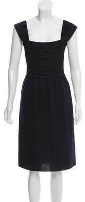 Valentino Wool-Blend Dress Set
