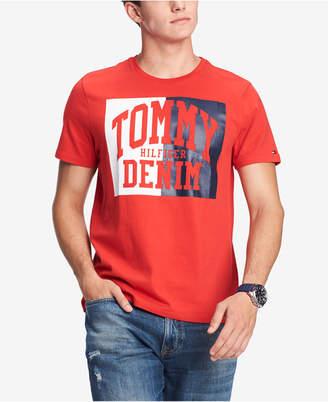 Tommy Hilfiger Men's Plains Graphic T-Shirt