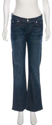 Rock & Republic Mid-Rise Flared Jeans