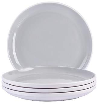 George Home Grey Two-tone Dinner Plates - Set of 4
