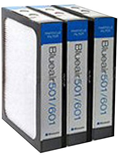 Blueair Replacement Particle Filter for 500/600 Series Air Purifiers, Set of 3
