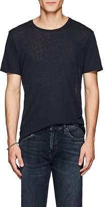 "J Brand Men's ""Grandpa"" Distressed Linen-Cotton T-Shirt"