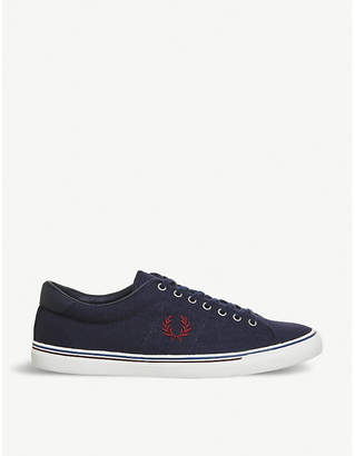 Fred Perry Underspin canvas trainers